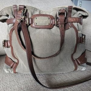 Michael Kors Hemp/Leather Gansevoort Handbag